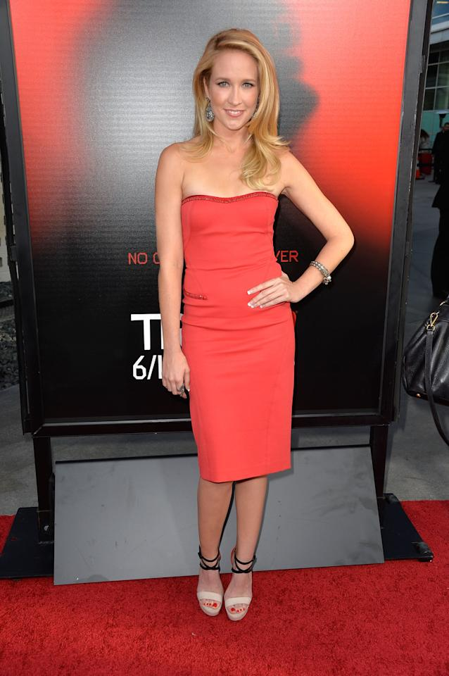 HOLLYWOOD, CA - JUNE 11: Actress Anna Camp attends the premiere of HBO's 'True Blood' Season 6 at ArcLight Cinemas Cinerama Dome on June 11, 2013 in Hollywood, California. (Photo by Frazer Harrison/Getty Images)