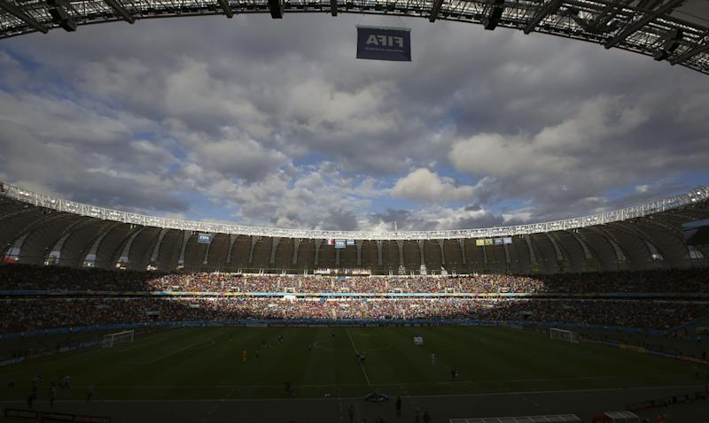 What, no anthems? France and Honduras miss out