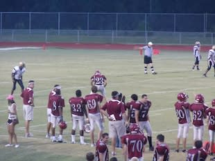 The Chiles football team got the season started with a midnight practice — BeRecruited