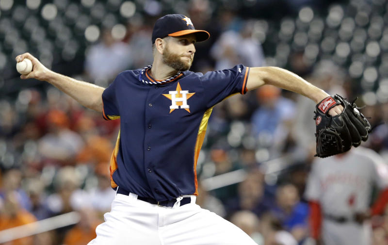 Feldman, 5 HRs help Astros beat Angels 7-4