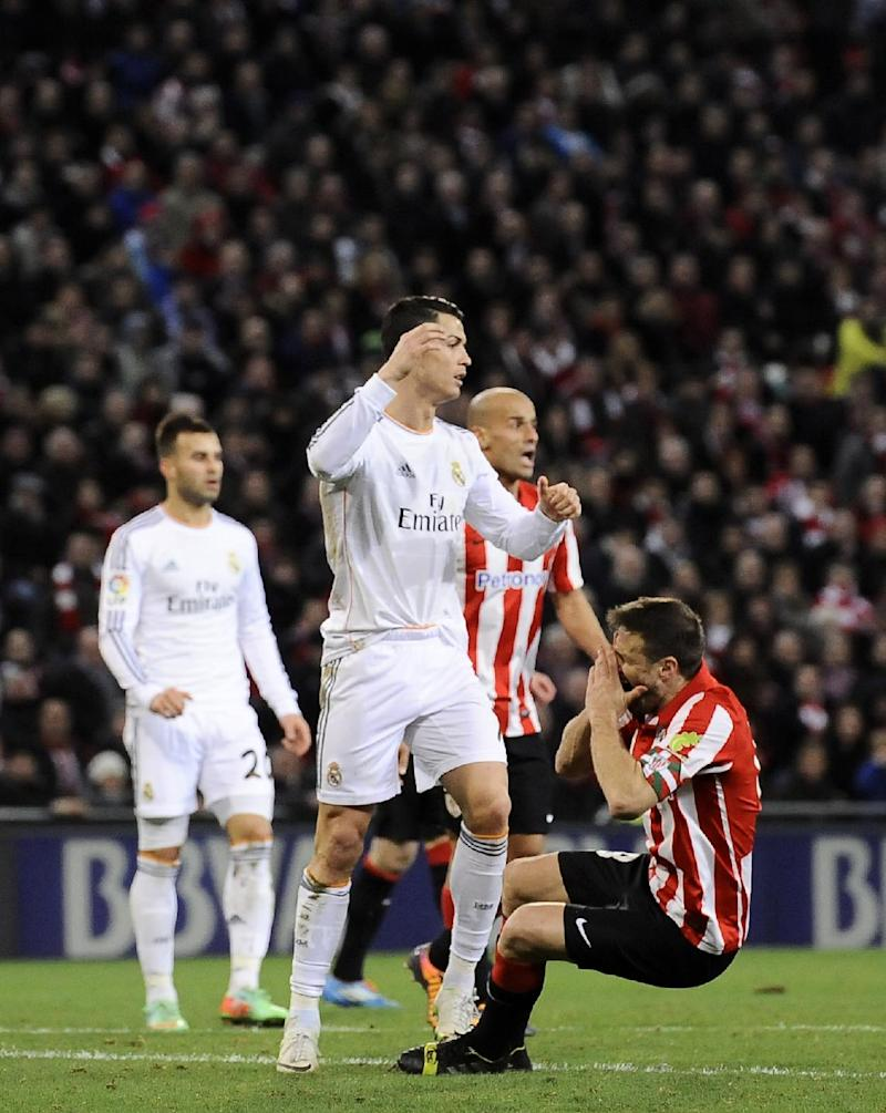 Real Madrid's Ronaldo suspended for 3 league games