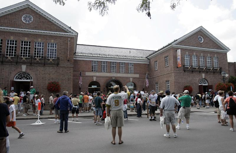 Baseball Hall of Fame celebrates 75th anniversary
