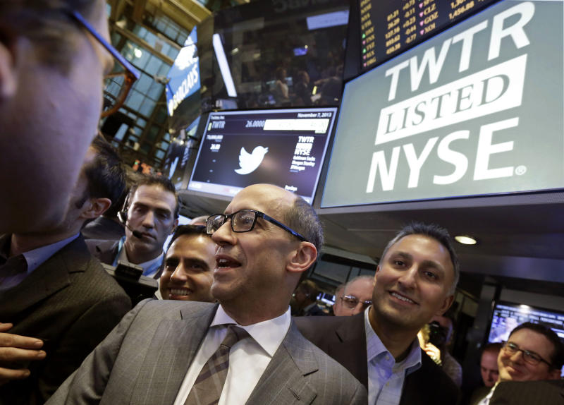 TWITTER IPO LIVE: Twitter stock trading heavily