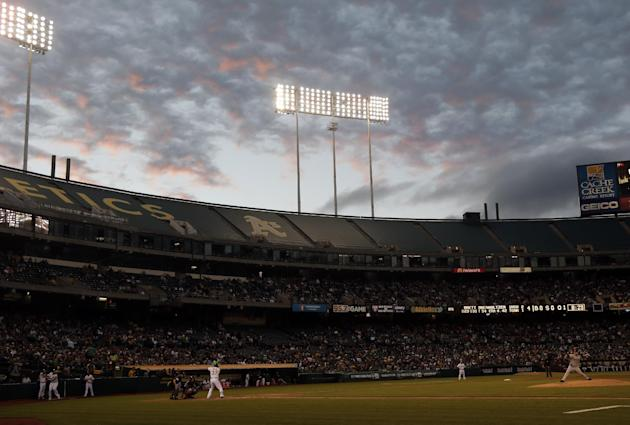 The Oakland City Council approved a 10-year lease to keep the A's at O.Co Coliseum. (AP)