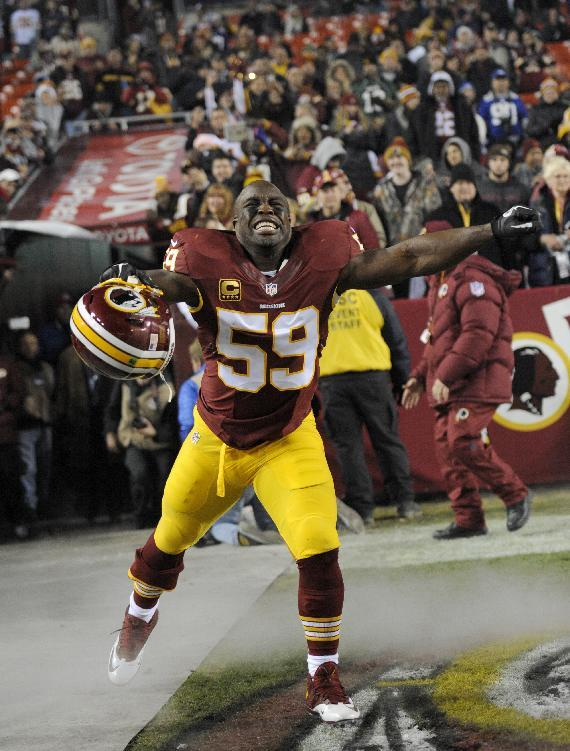 Redskins' Fletcher: '99 percent' chance he retires