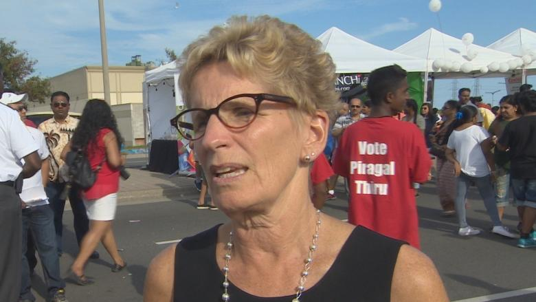 Kathleen Wynne says scrapping Ontario's sex-ed curriculum 'very, very dangerous'