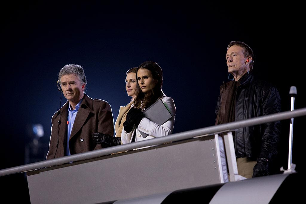 "Patrick Duffy, Brenda Strong, Jordana Brewster and in the ""Dallas"" Season 2 episode, ""The Furious and the Fast."""