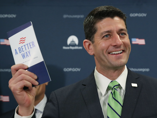 Ryan says health law proposal winning support