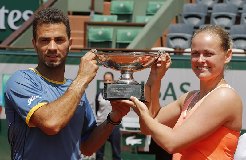 Rojer, Groenefeld win French Open mixed doubles