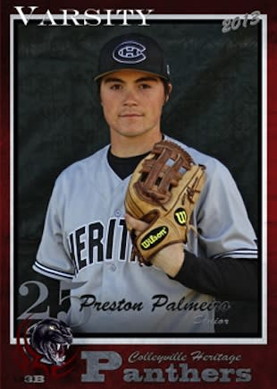 Preston Palmeiro, son of Rafael Palmeiro, will play at N.C. State — Colleyville Heritage High School