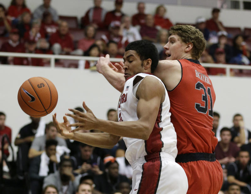 Stanford holds off Utah to boost Pac-12 position