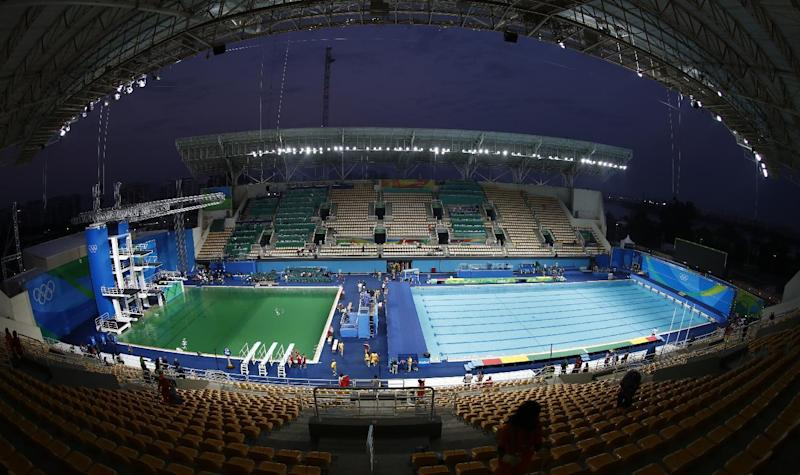Rio organisers admit more testing was needed at Olympic diving venue