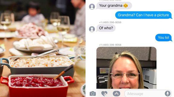 Two families come together for Thanksgiving after meeting through wrong number