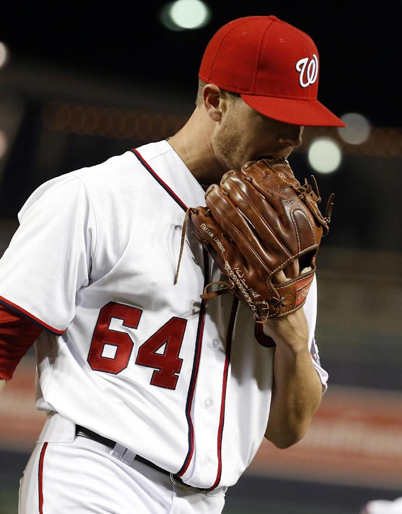 Nationals recall LHP Cedeno from Triple-A Syracuse