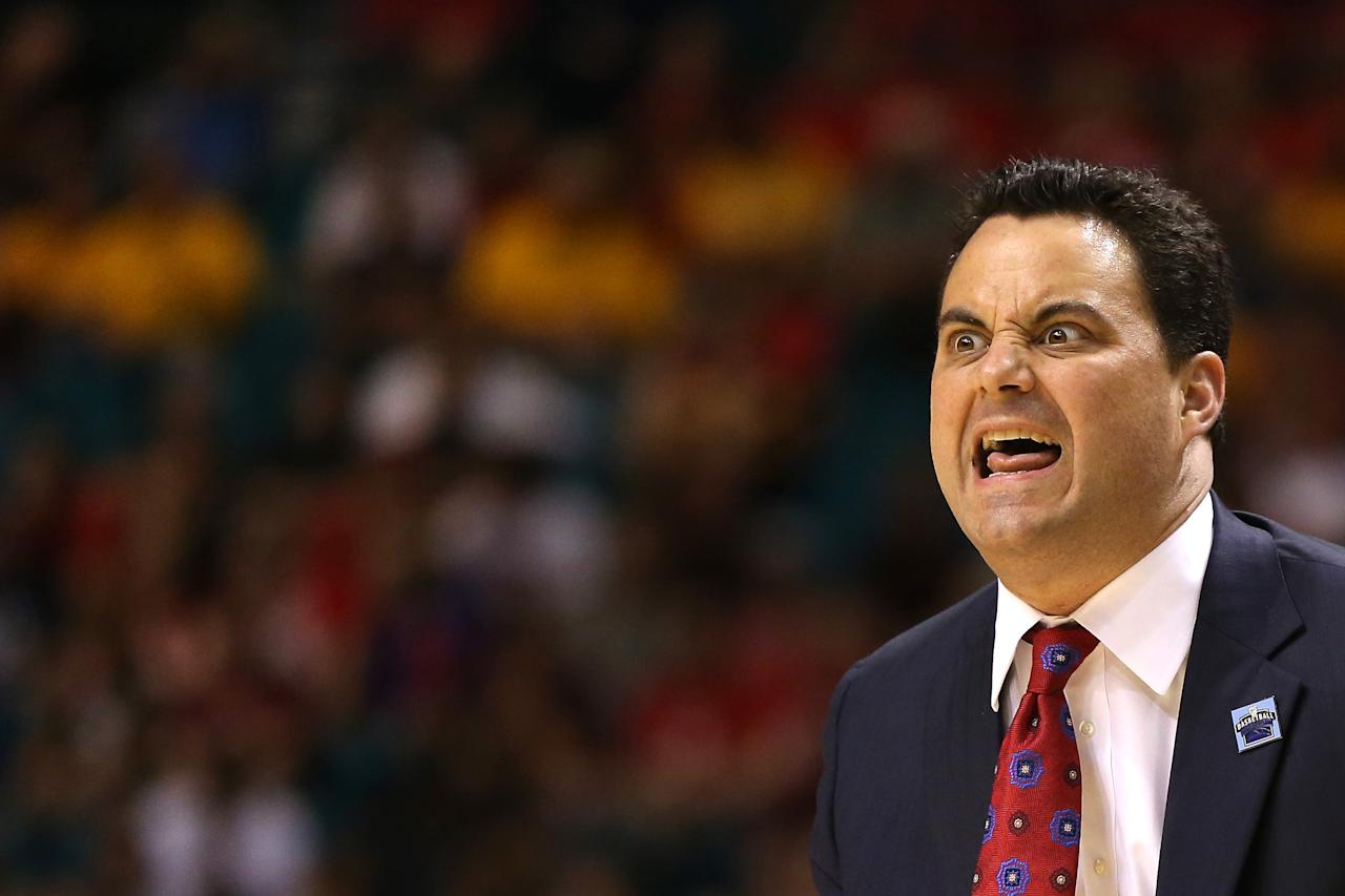 Sean Miller, Arizona Wildcats (Photo by Jeff Gross/Getty Images)