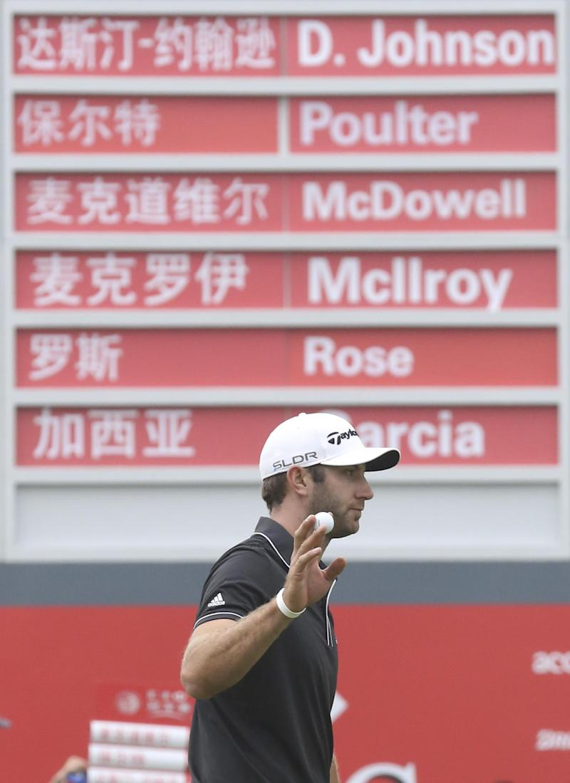 A big game, and a big win for Dustin Johnson