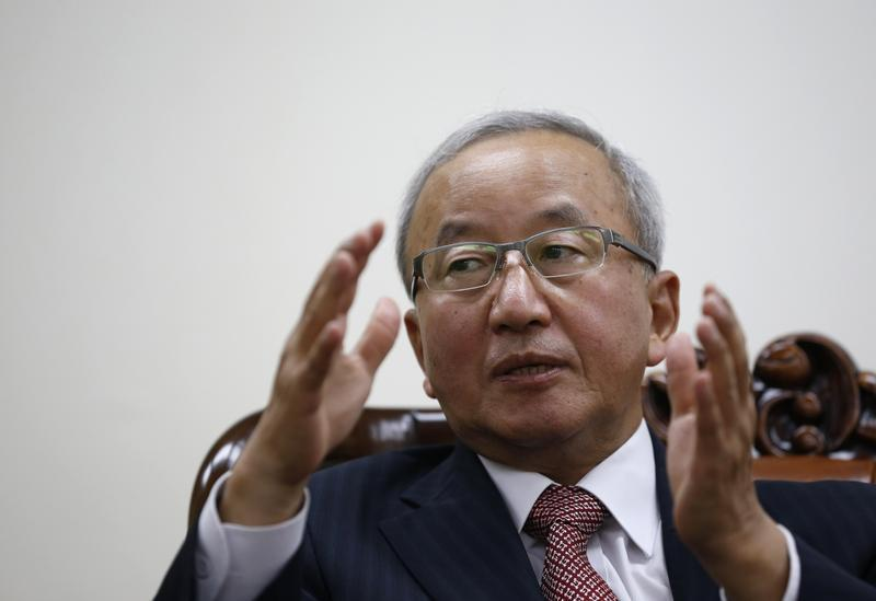 South Korean Finance Minister Hyun Oh-seok speaks during an interview with Reuters in Seoul
