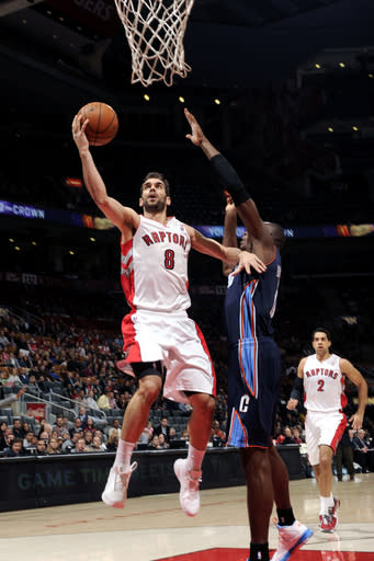 Anderson leads Raptors to victory over Bobcats