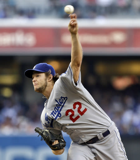 Kershaw strikes out 10, Dodgers defeat Padres 4-0