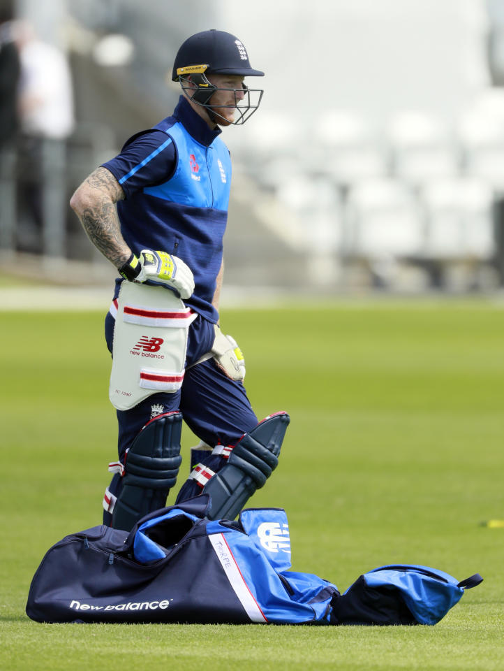 Britain Cricket - England Nets - Headingley - 23/5/17 England's Ben Stokes during nets  Action Images via Reuters / Jason Cairnduff Livepic EDITORIAL USE ONLY.