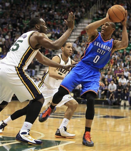 Paul Millsap leads Jazz past Thunder, 97-90
