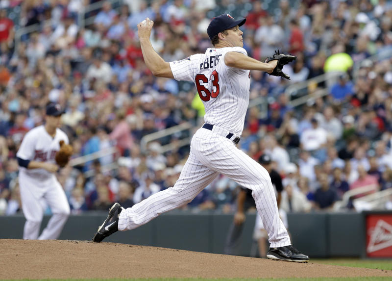 Albers pitches 2-hitter, Twins blank Indians 3-0
