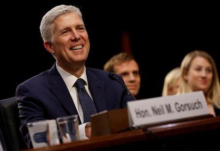 Gorsuch Takes The Bench, Showing A Flair For Debate