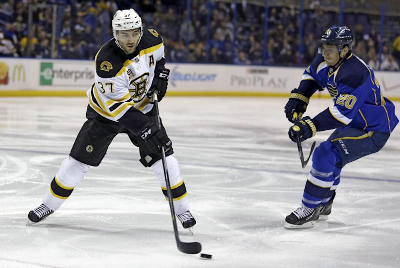 Oshie's OT goal gives Blues 3-2 win over Bruins