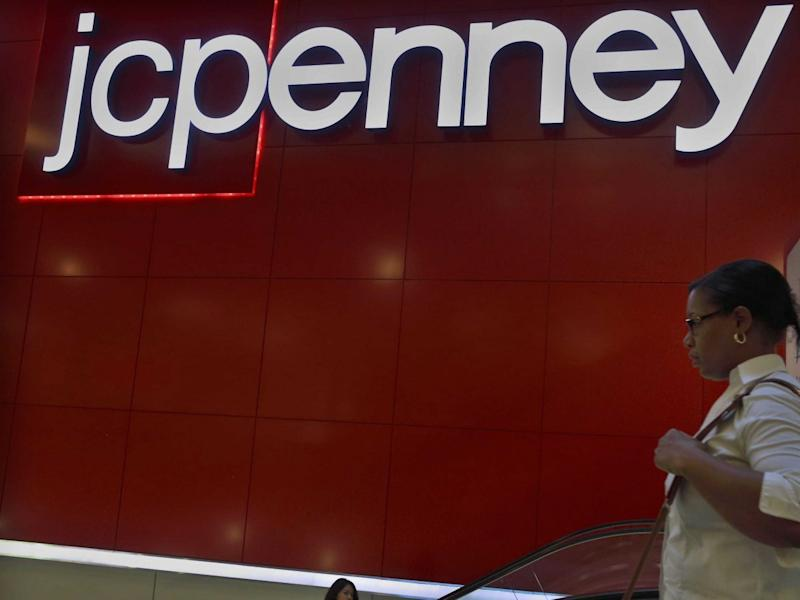 JC Penney escalator