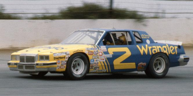Dale Earnhardt was the highest finisher among those driving the new chassis at Riverside in 1981, finishing third. (Smyle Media)