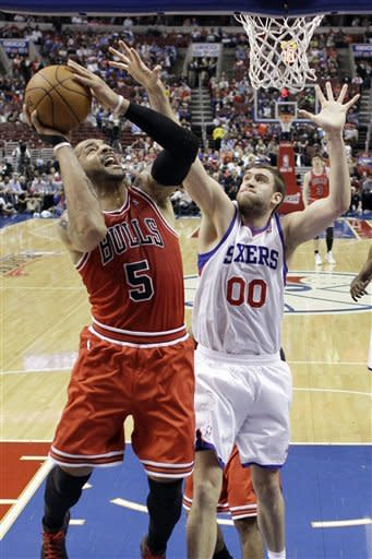 76ers beat Bulls 79-78 and advance to 2nd round