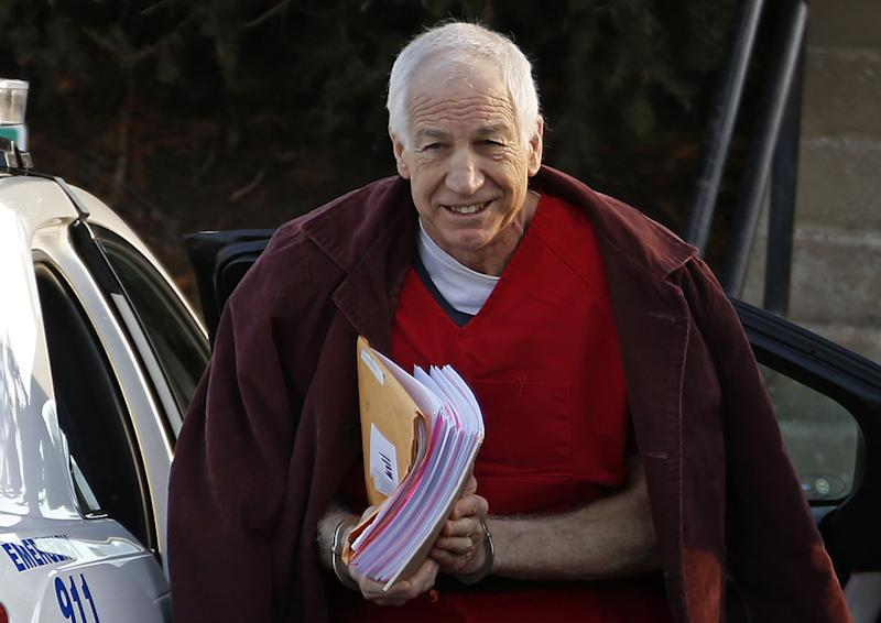 Sandusky tries to get his Penn State pension back