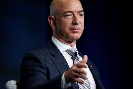 Bezos selling Amazon stock to fund rocket