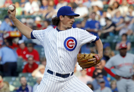 Athletics finalize blockbuster trade with Cubs