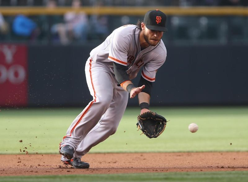 Giants hit 3 solo homers in 5-1 win over Rockies