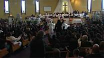 Funeral for slain teen who sang at inauguration