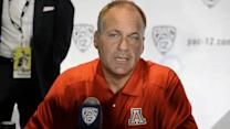 Rich Rodriguez - Pac-12 media day