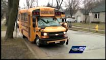 Bus collision reported in Waukesha