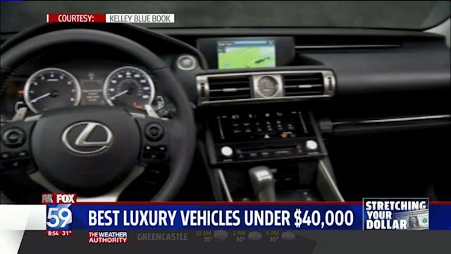 10 Best Luxury Vehicles Under $40,000