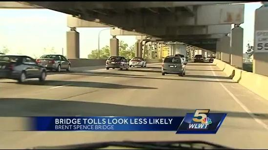 Brent Spence Bridge tolls looking less likely