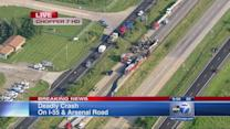 4 dead in I-55 crash at Arsenal near Channahon
