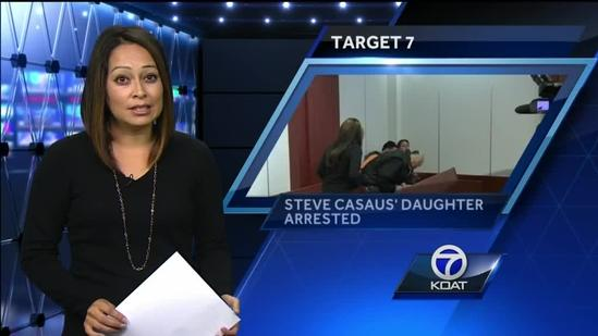 Steve Casaus's Daughter Arrested.