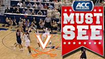 UVA's Malcolm Brogdon Hits Game-Winning 3 Against Pitt | ACC Must See Moment