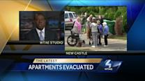 Apartment building for seniors evacuated in New Castle