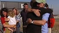 Australian Family Reunited After Escaping Blaze