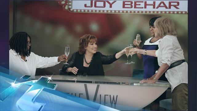 Joy Behar's last day on The View