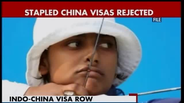 Two Arunachal archers prevented from China trip over stapled visa row