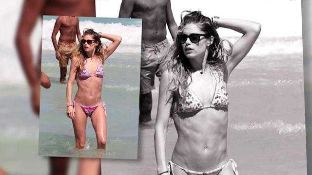 Doutzen Kroes is Perfect in a Bikini