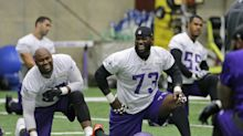 Is Vikings' Sharrif Floyd's career in jeopardy? Nerve damage in quad reportedly a big concern