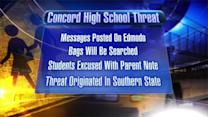 State Police on hand at Concord High School after threat